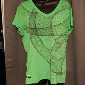 FILA women's t-shirt size XL